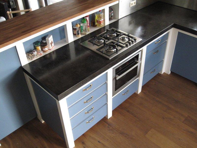 Keuken Beton Blad : Keuken beton hout