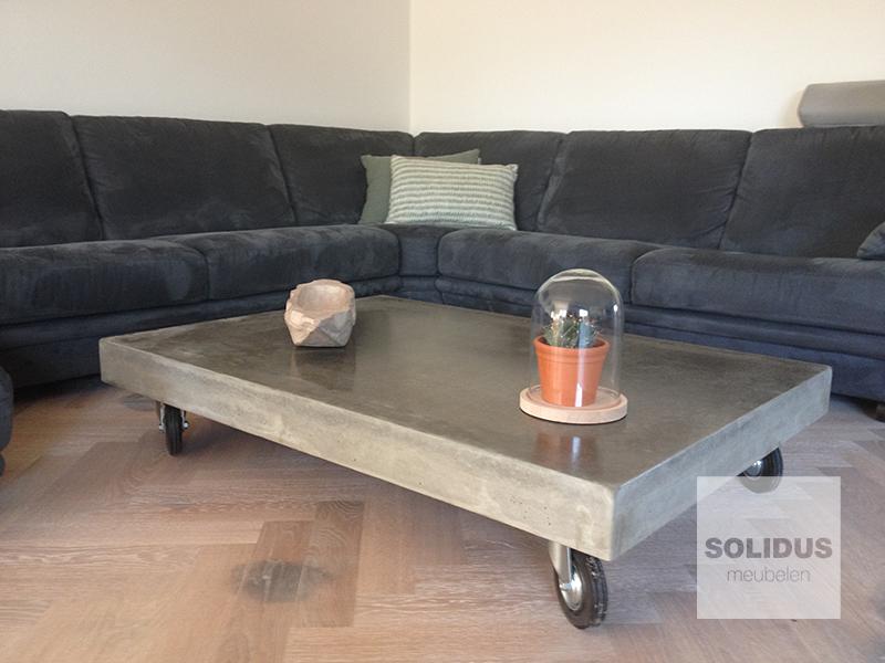 Salontafel Van Beton : Shop je stoere betonnen tafel met korting tot westwing