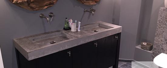 solidus-meubelen-badkamermeubel hout en beton