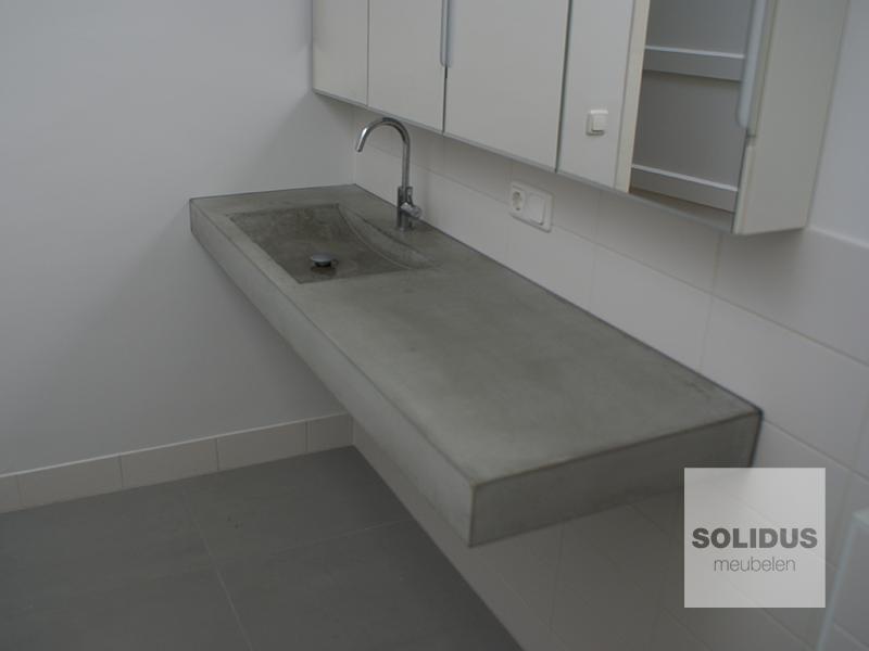 Wastafel Van Beton : Wastafels van beton u solidus meubelen